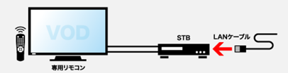 STBレスVODシステム